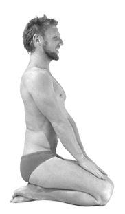 Gymnastikübung gegen Haarausfall – Vajrasana (1 Haarschutz-Punkt)