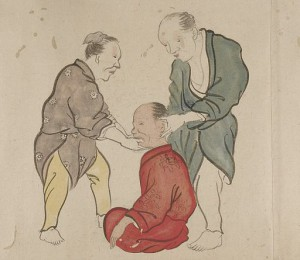 Chiropractors_treating_a_patient__Wellcome_L0034591